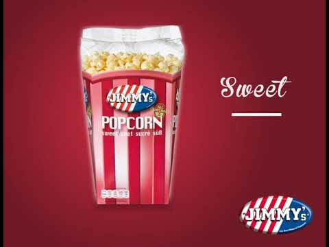 Jimmy's Popcorn - Sweet/Salt