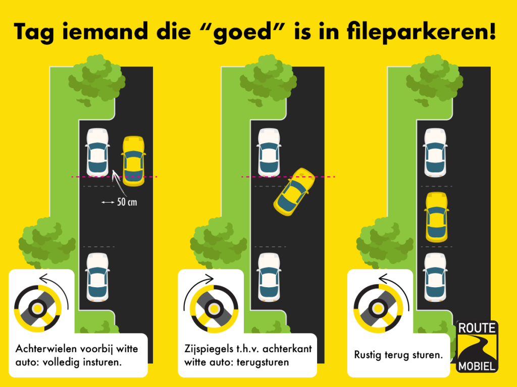 Fileparkeren - Routemobiel